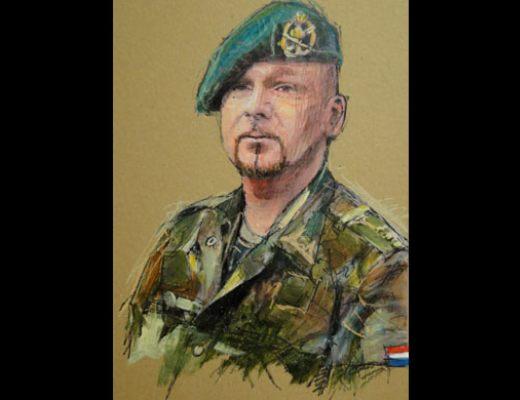 Portret laten schilderen door portretschilder paul kerrebijn - Associatie van kleur e geen schilderij ...